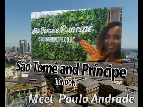 Sao Tome and Principe @ WTM 2017 with Paulo Andrade - HBD Prince