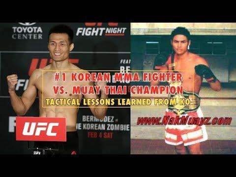 #1 Korean MMA Fighter Vs. Muay Thai Champion