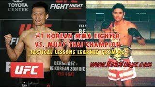 #1 Korean MMA Fighter vs. Muay Thai Champion thumbnail