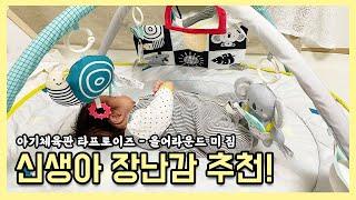 신생아 장난감 추천 아기체육관 타프토이즈 올어라운드 미…
