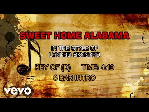 Lynyrd Skynyrd - Sweet Home Alabama (Karaoke)