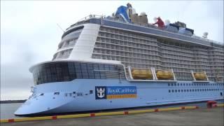 世界最大 豪華客船 クァンタム・オブ・ザ・シーズ 高知新港寄港