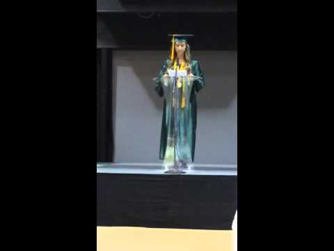 North Hardin Christian School 2015 Valedictorian Speech