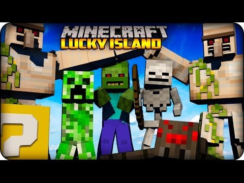 Minecraft - Lucky Block Survival Island - 'ULTIMATE MOB ATTACK' (Lucky Block Mod) #5