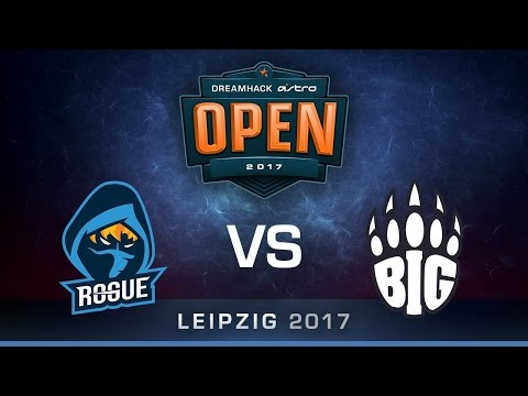BIG vs Rogue [Map 1 BO3] DreamHack ASTRO Open Leipzig 2017