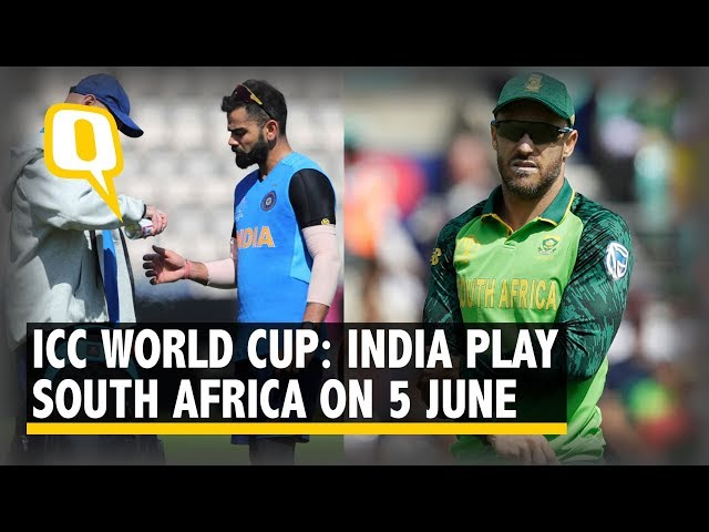 India-Southafrica ICC CWC 2019 Live scores details and pitch report