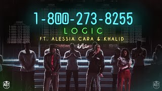 Logic - 1-800-273-8255 (Ft. Alessia Cara & Khaild) | Lyrics Video | مترجمة