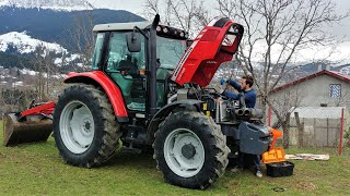 Changed Tractor Injector Hoses and Axle Oils | Massey Ferguson 5440