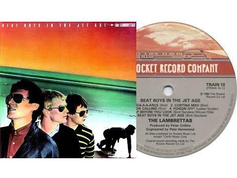 The Lambrettas - Beat Boys In The Jet Age (On Screen Lyrics)