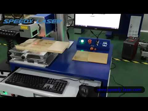 30W CO2 laser marking machine for wood engraving - Speedy Laser