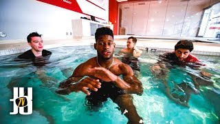 JuJu Smith-Schuster NFL Cold Tub Challenge thumbnail