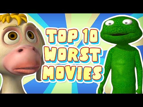 Top 10 WORST Animated Movies I've EVER Seen