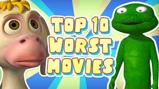Top 10 WORST Animated Movies I've EVER Seen (help me...)