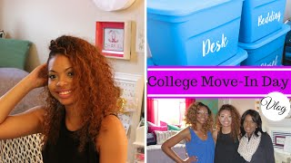 College Move In Day | VLOG