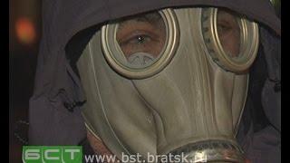 Жители Братска вынуждены носить противогазы