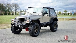 Davis AutoSports JEEP WRANGLER LJ / LIFTED AND BUILT / FOR SALE