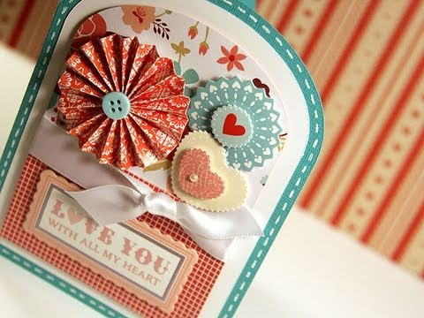 Love You With All My Heart - Make a Card Monday #131