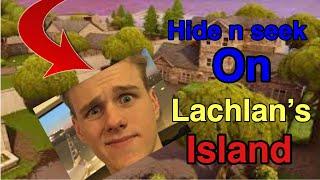 We played hide n seek in LACHLAN'S MAP…