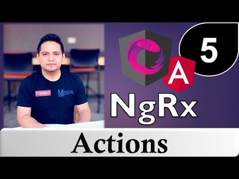 05 - Tutorial de NgRx con Angular - Actions thumbnail