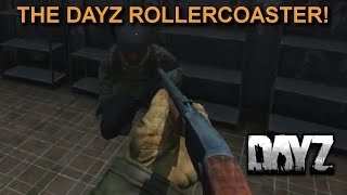 The DayZ Rollercoaster! Taking a Trumpet to the Prison Island. Twitch highlight.