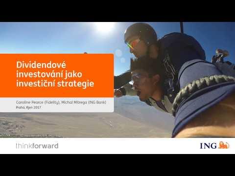 33. webinář: Dividendové investování jako investiční strategie
