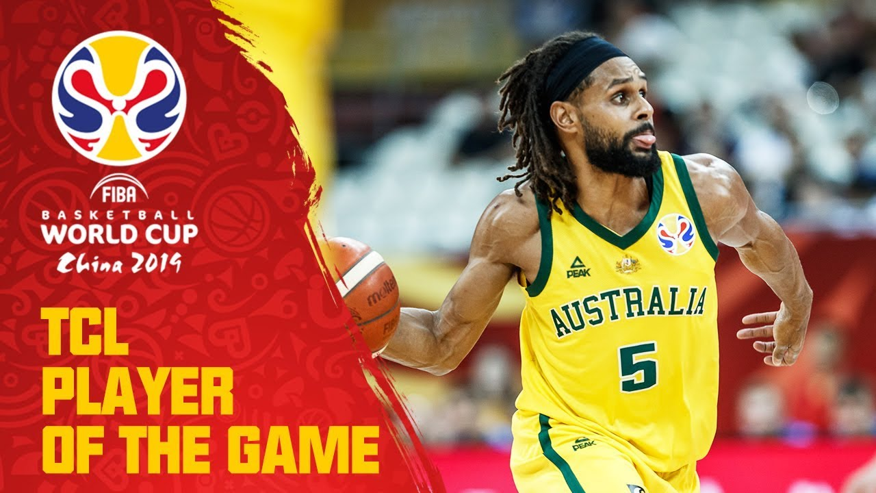 Patty Mills | Australia v Czech Republic | TCL Player of the Game