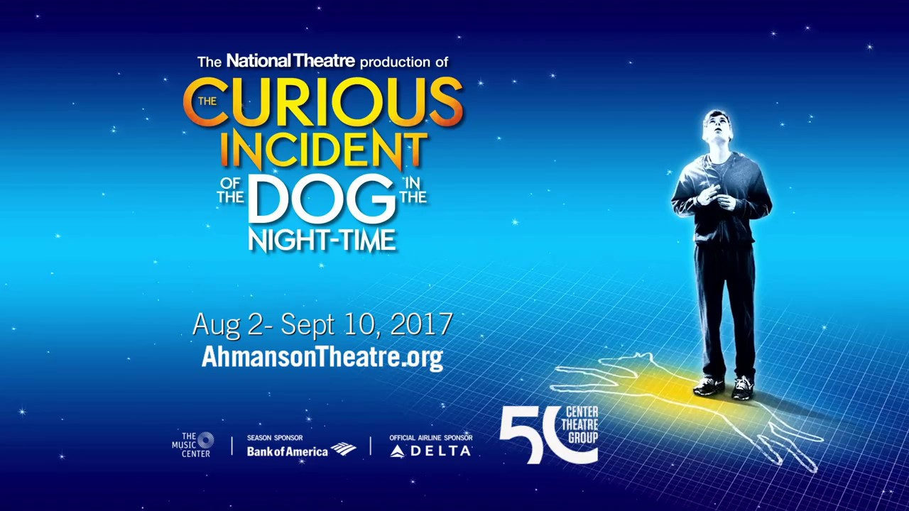 Image result for The Curious Incident of the Dog in the Nighttime at the Ahmanson Theatre