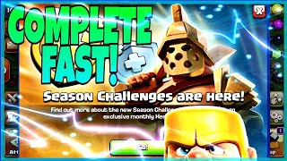NEW UPDATE! | SEASON CHALLANGES! | CLASH OF CLANS | TH10 FARM TO MAX |