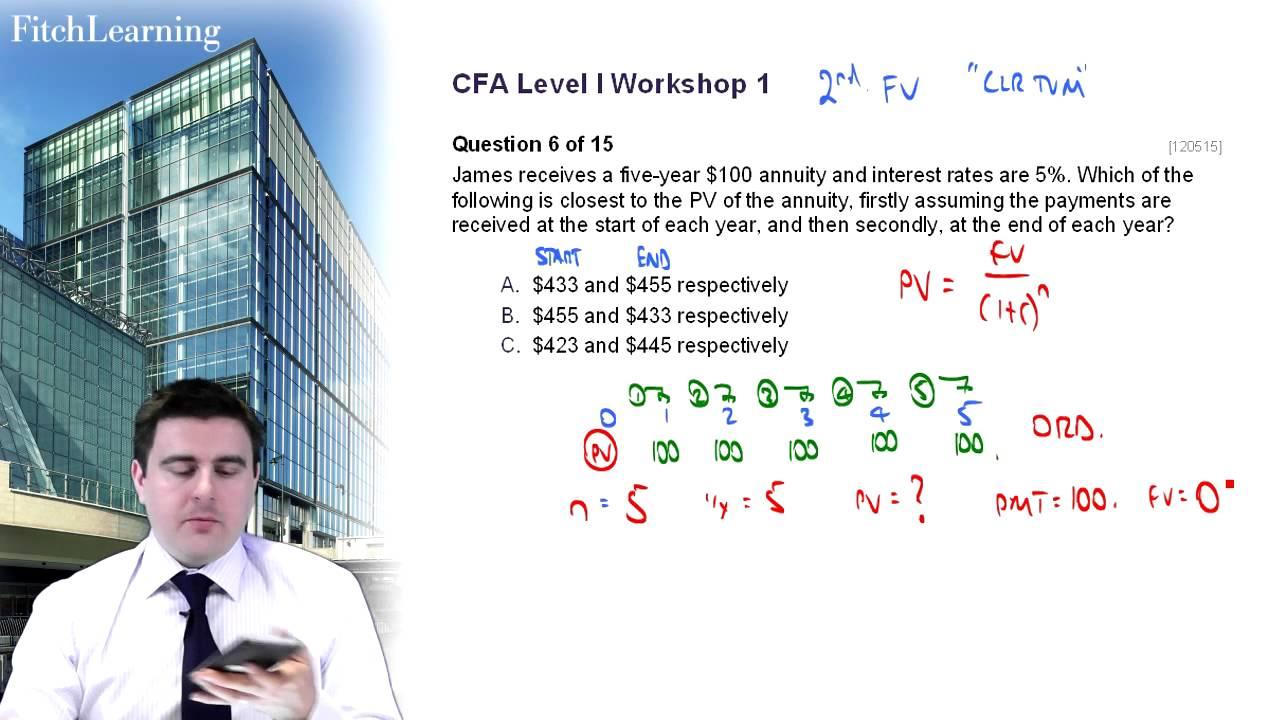 CFA Quiz iPhone app