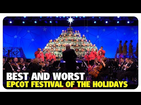 BEST & WORST of the Epcot International Festival of the Holidays | Best and Worst | 12/12/18