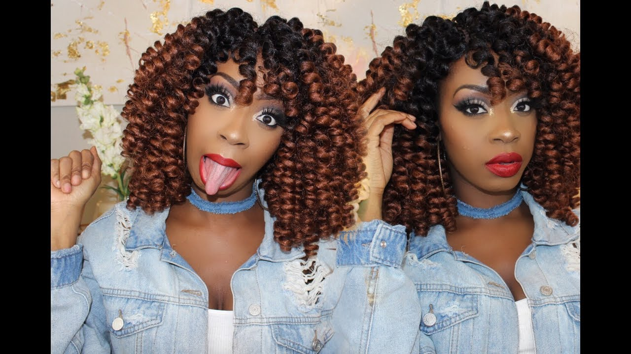 The Best Crochet Hair Ever D I Y How To Make Crochet Wig