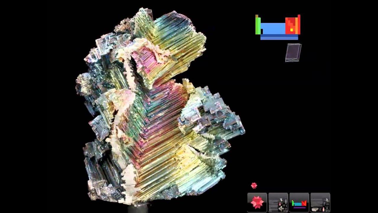 83 Bismuth Bi Periodic Table Original 3d Youtube