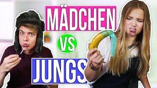 MÄDCHEN VS JUNGS! Die ultimativen Challenges mit JONAS | Julia Beautx