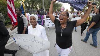 """Nach """"Drecksloch""""-Beleidigung: Haitianer in Miami entsetzt über Trump"""