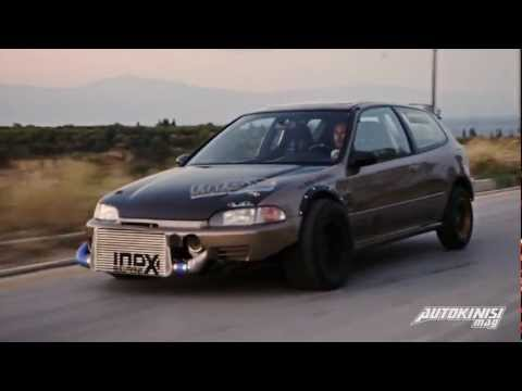 "TUNING P*RN: HONDA CIVIC TURBO 817PS | Autokinisimag Issue #18 | Feat ""Spin This"" - Idox"
