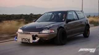 """TUNING P*RN: HONDA CIVIC TURBO 817PS 