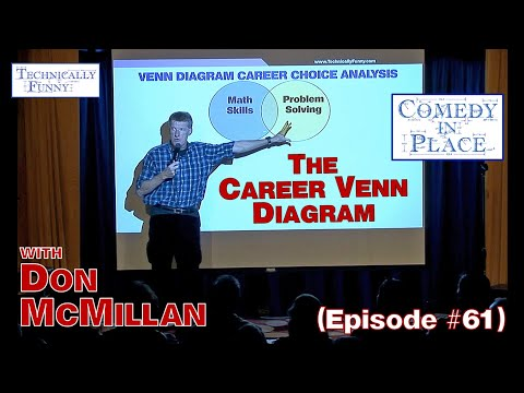 The Career Venn Diagram - Comedy in Place (E61)