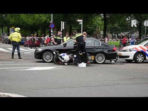 Politie lost schoten op het Oostplein (Beelden: MediaTV)