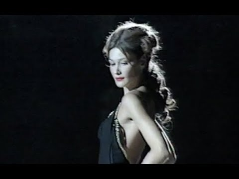 GAI MATTIOLO Fall Winter 1997 1998 Haute Couture Rome - Fashion Channel