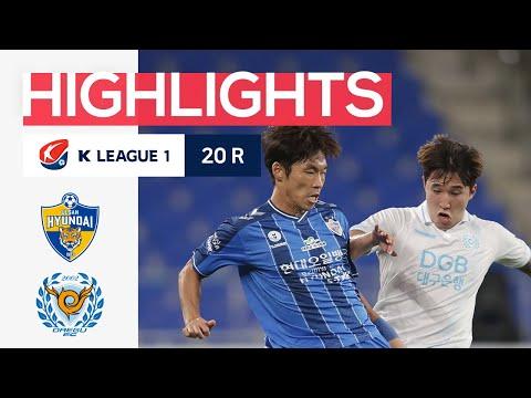 Ulsan Hyundai Daegu Goals And Highlights