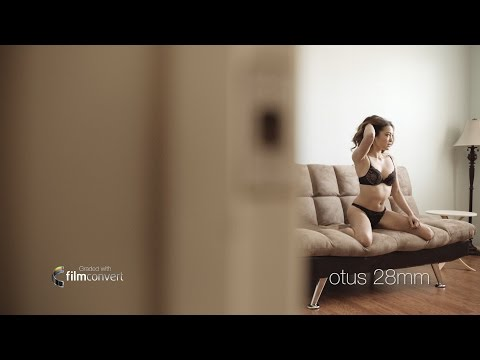 Carl Zeiss Milvus and Otus Lenses meet the A7s II and a half-naked lady - The Boudoir Test