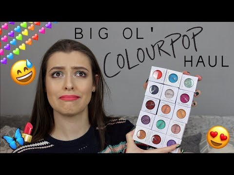 A Big Ol' Colourpop Haul | Makeup With Meg