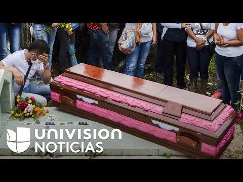 Cementerio del municipio colombiano Mocoa agudiza el dolor por las pérdidas tras la avalancha