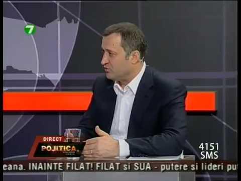 "Vlad Filat - invitatul special al emisiunii ""Politica"""