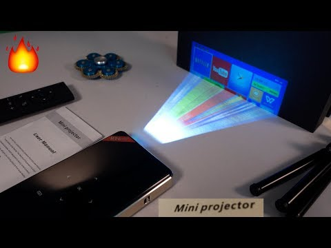 Amazing Mini DLP 4K Pocket Projector with Android - DIY Proj