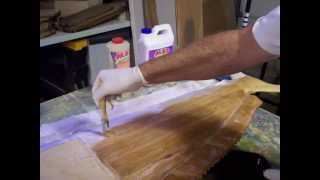 Wood Carving A Dolphin Fish