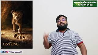 The Lion King review by Prashanth