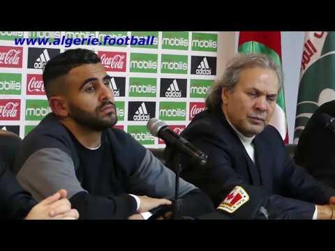 Algérie-Centrafrique: Conférence de presse de Madjer avec son clash avec Maamar Djebbour