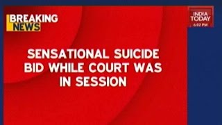 Man Attempts Suicide Inside Courtroom In Bandra