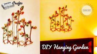 Newspaper crafts hanging | Wall hanging craft ideas easy | Diy wall hanging crafts | Newspaper Craft